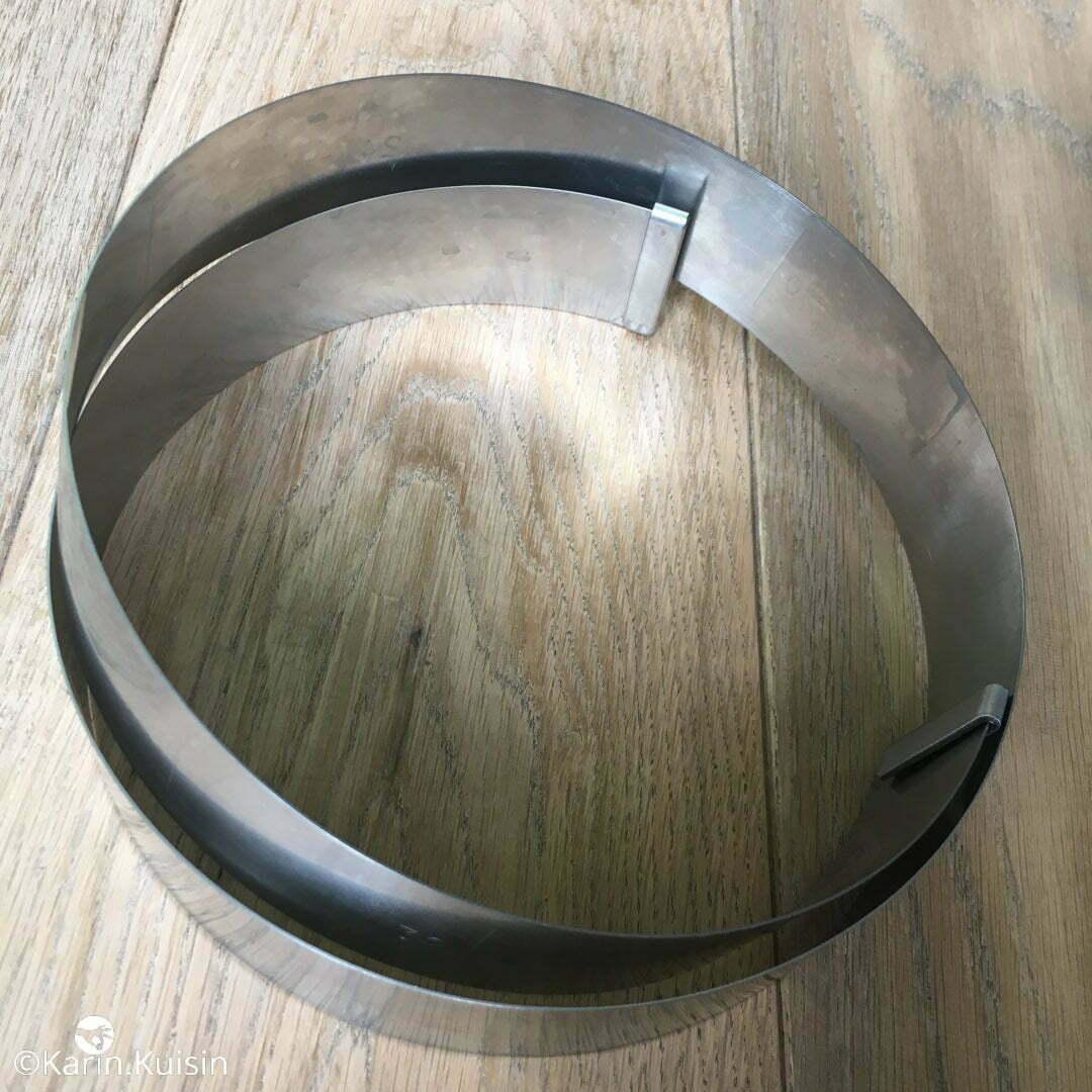 cercle entremet 4,5