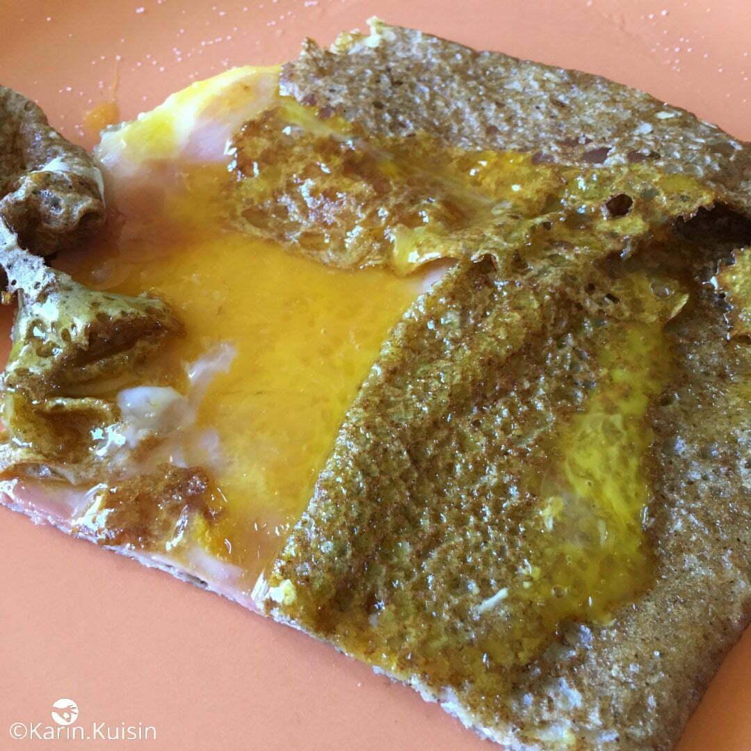 crêpe jambon oeuf sarrasin