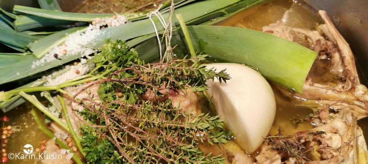 bouilllon légumes ajouter
