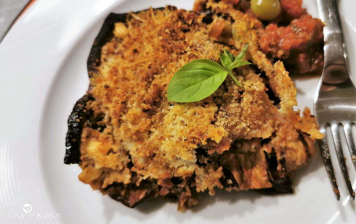 gratin aubergine