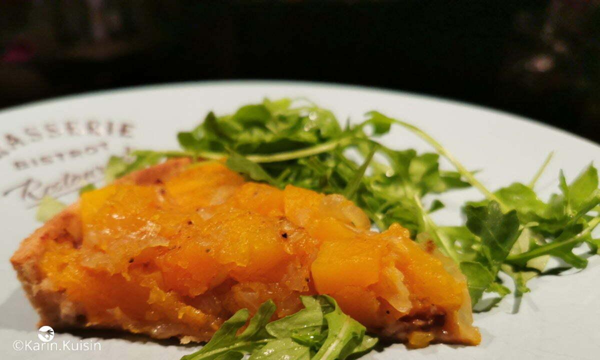 tarte potiron salade final découpe