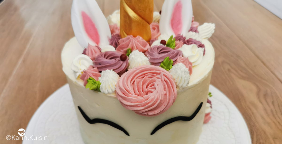 gâteau licorne final